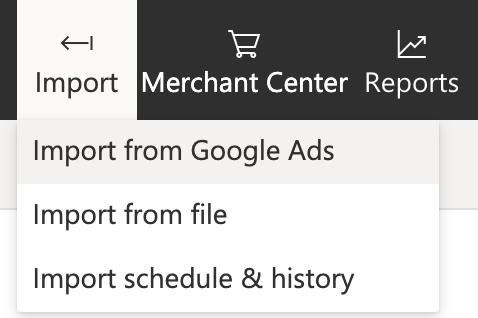 Importeren van Google Ads naar Microsoft Ads