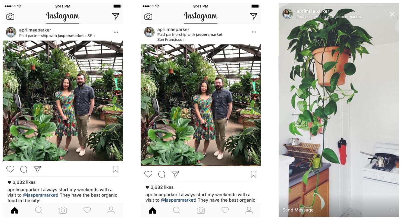Paid Partnerships Instagram