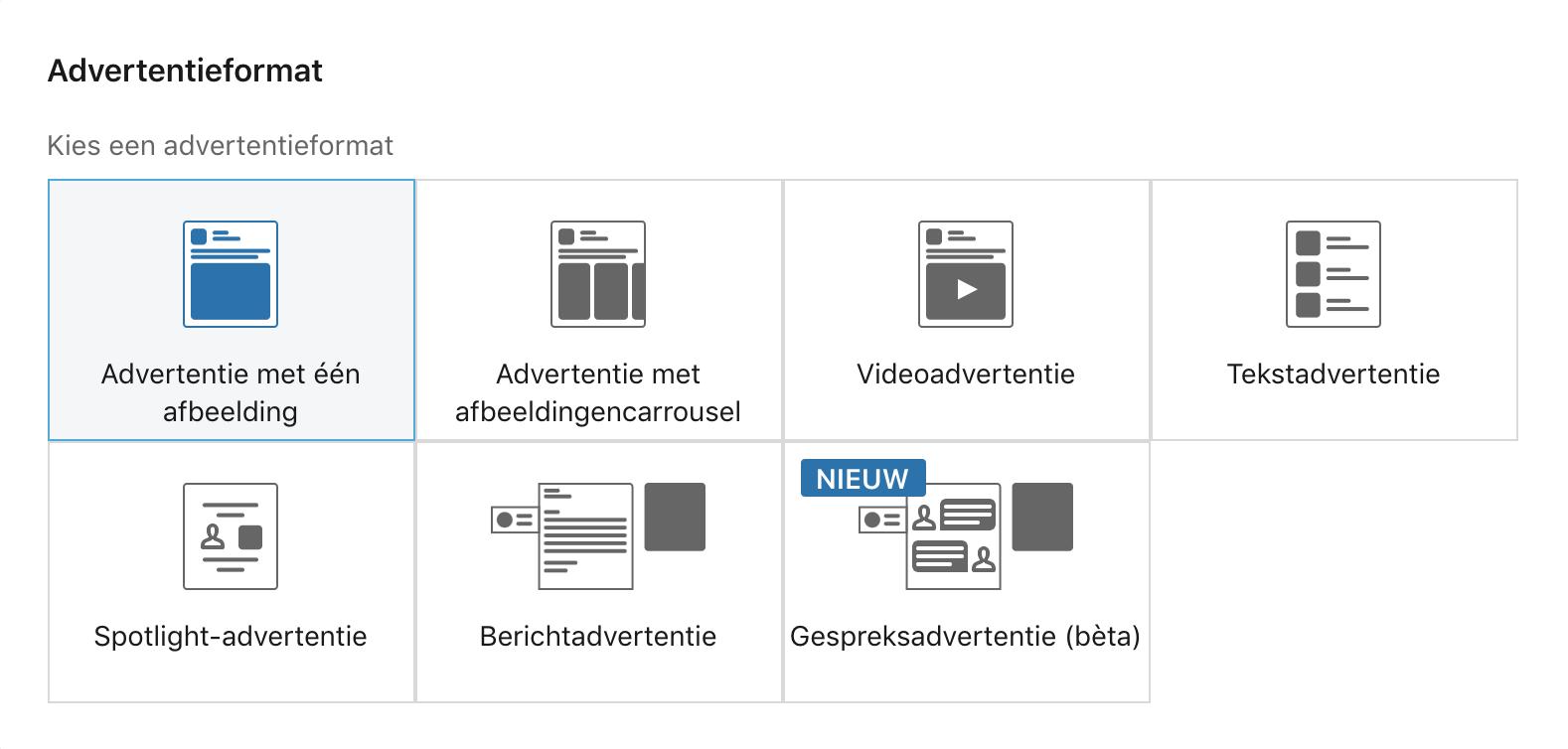 LinkedIn formaten