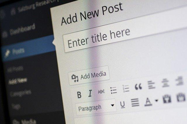 Nieuwe content maken in WordPress