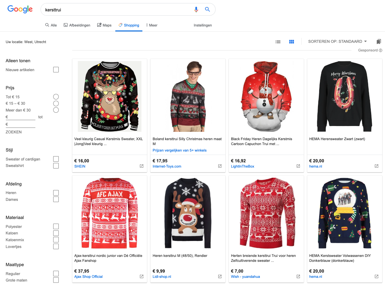 Google Shopping overview