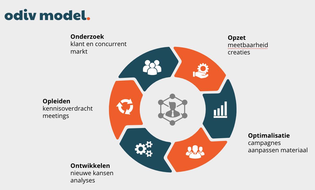 Online Marketingplan odiv model