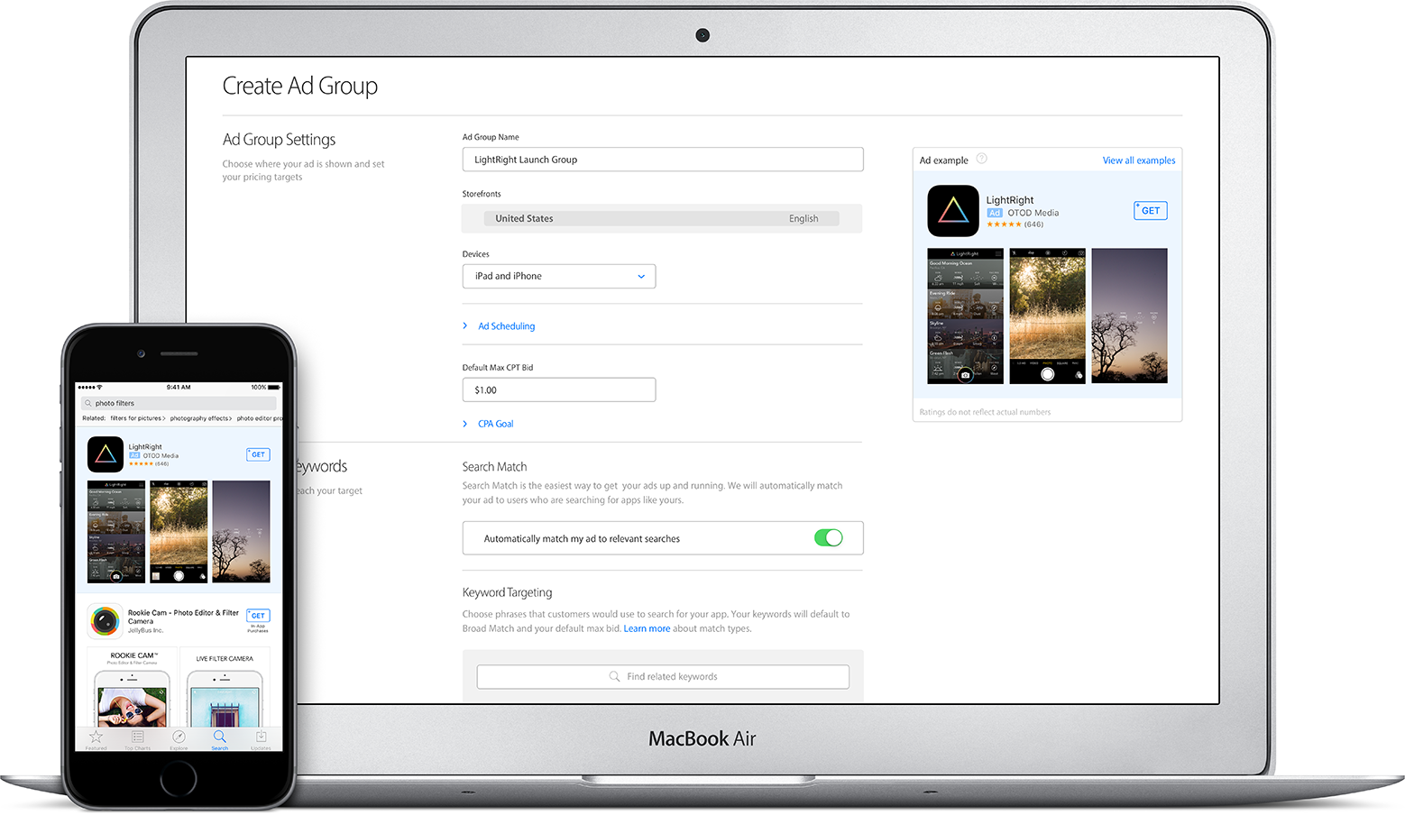 Account Structuur Apple Search Ads